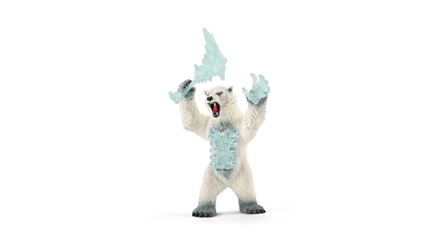 Schleich 42510 Eldrador Creatures Blizzard Baer mit Waffe