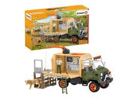 Schleich 42475 Wild Life Grosser Truck Tierrettung