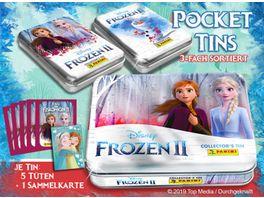 Panini Frozen 2 Sticker und Trading Cards Mini Tin 1 Stueck sortiert