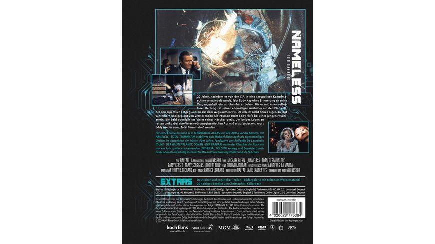 Nameless Total Terminator Mediabook Cover A DVD