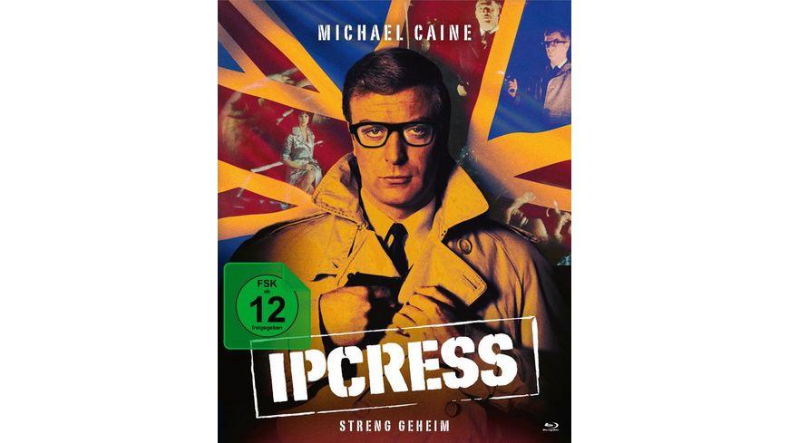 Ipcress Streng geheim Mediabook 2 BRs Bonus DVD