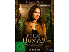 Relic Hunter Die Schatzjaegerin Gesamtbox 15 DVDs