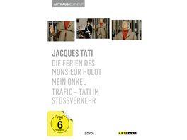 Jacques Tati Arthaus Close Up 3 DVDs