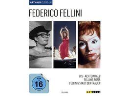 Federico Fellini Arthaus Close Up 3 BRs