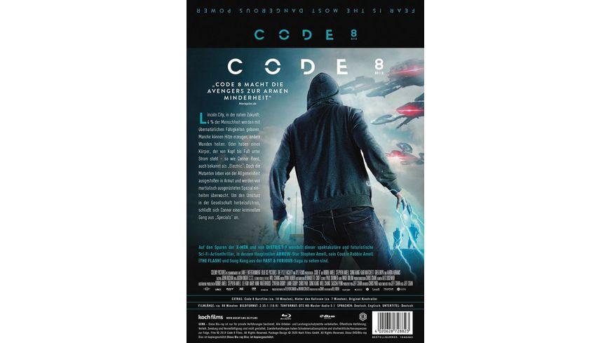 Code 8 Steelbook
