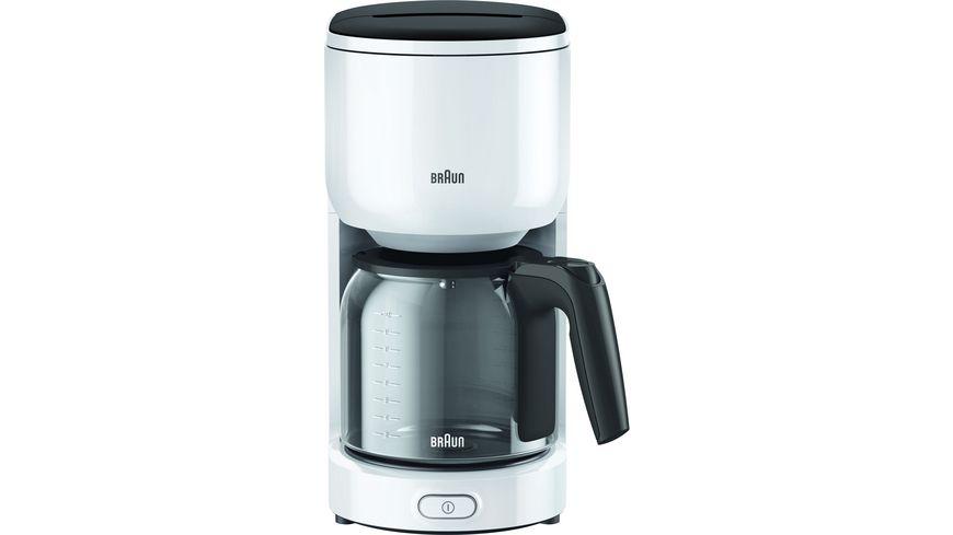 BRAUN Kaffeemaschine KF 3100.WH