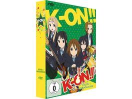 K ON 2 Staffel Gesamtausgabe 4 DVDs