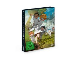 The Promised Neverland Vol 1 Ep 1 6 2 DVDs