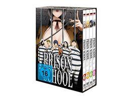 Prison School Gesamtausgabe DVD Box 4 DVDs