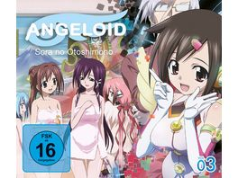 Angeloid Sora no Otoshimono Blu ray Vol 3