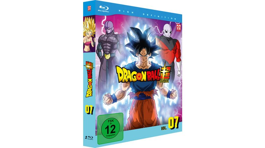 Dragon Ball Super Blu ray Box Vol 7 Episoden 96 112 2 BRs
