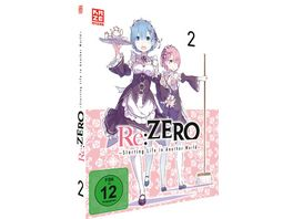 Re ZERO Starting Life in Another World DVD Vol 2