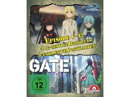 Gate 1 Staffel Gesamtausgabe Blu ray Box 4 Blu rays