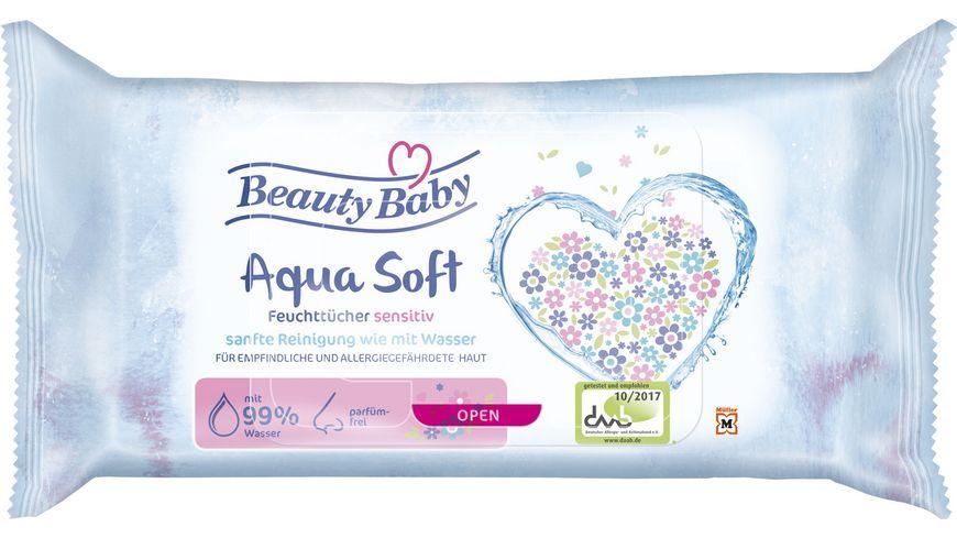 Beauty Baby Comfort Feuchttuecher 99 Wasser
