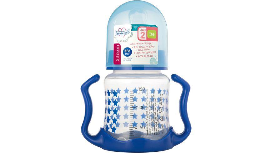 Beauty Baby Weithalstrinklernflasche mit Griff 150 ml