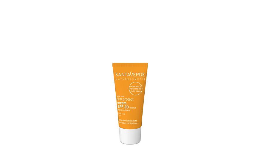 Santaverde sun protect cream SPF 20