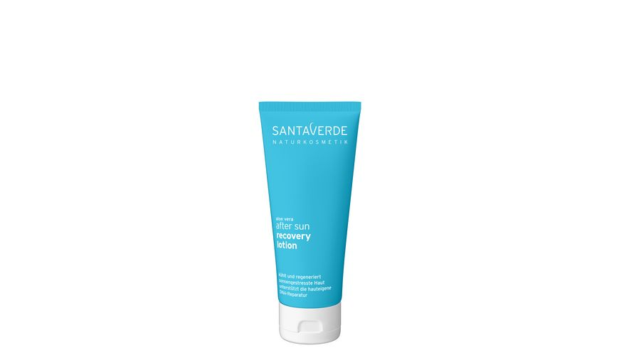 Santaverde after sun recovery lotion