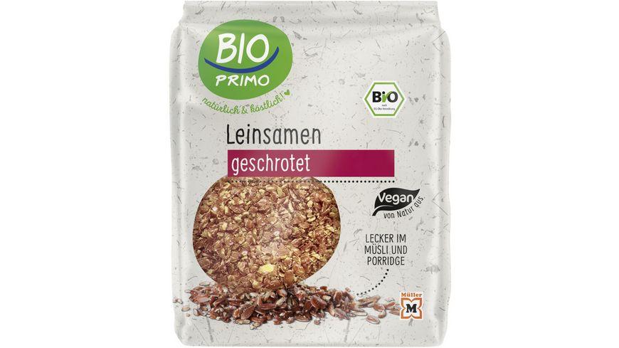 BIO PRIMO Leinsamen Braun geschrotet