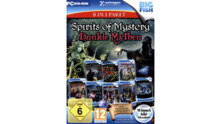 Spirits of Mystery: Dunkle Mythen 8 in1 Paket