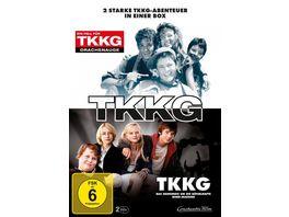 TKKG Das Geheimnis um die raetselhafte Mind Machine TKKG Ein Fall fuer TKKG Drachenauge 2 DVDs