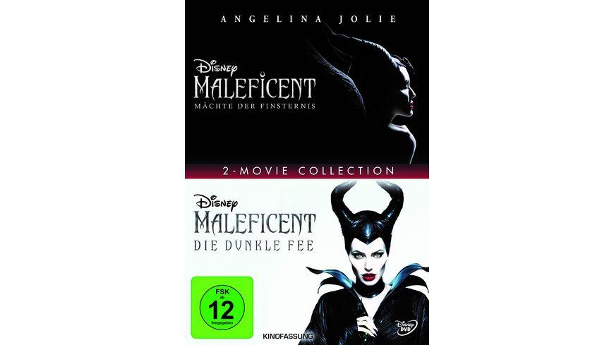 Maleficent - Die dunkle Fee/Mächte der Finsternis  [2 DVDs]