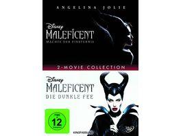 Maleficent Die dunkle Fee Maechte der Finsternis 2 DVDs