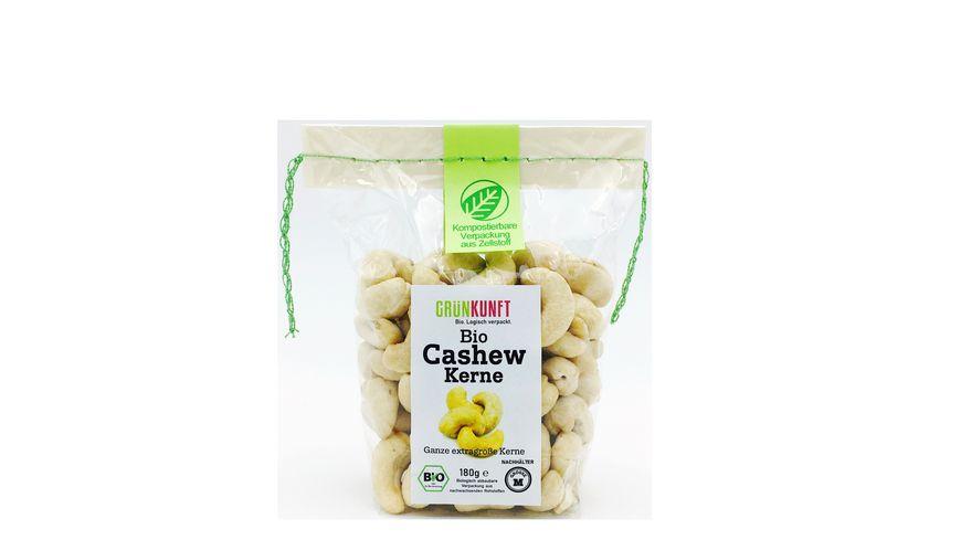 GRUeNKUNFT Bio Cashew Kerne XXL