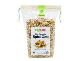 GRUeNKUNFT Bio Granola Apfel Zimt