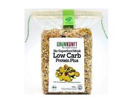 GRUeNKUNFT Bio Low Carb Muesli Protein
