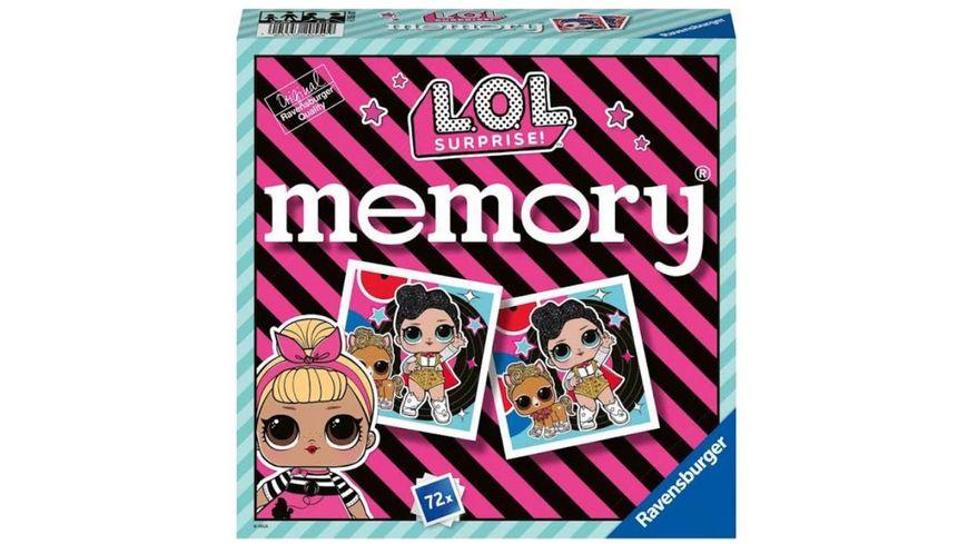Ravensburger Spiel L O L Surprise Memory