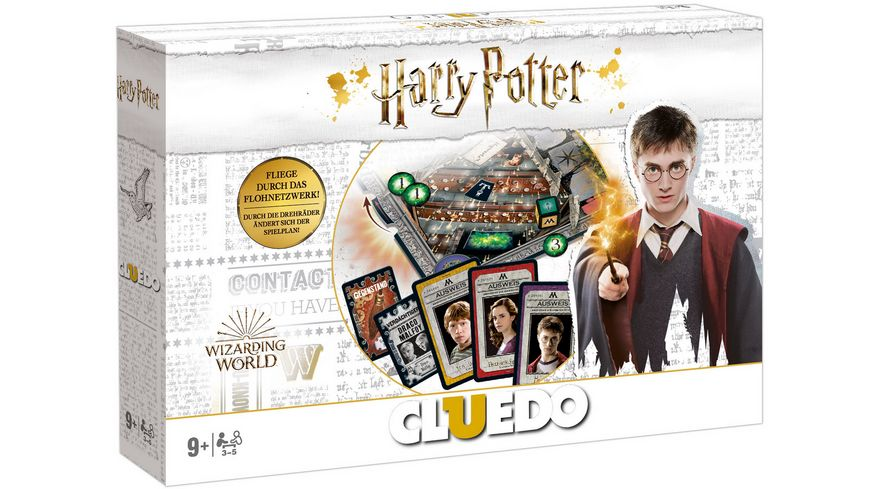Winning Moves Cluedo Harry Potter Collector s Edition weiss 2019