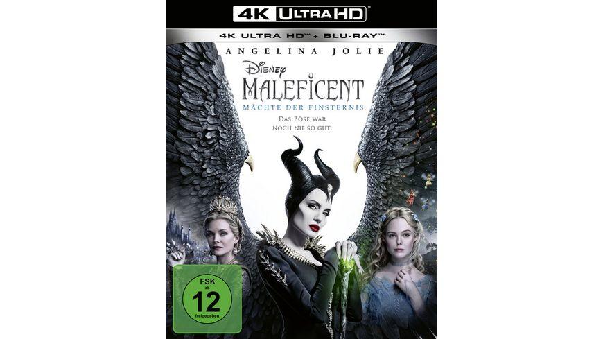 Maleficent Maechte der Finsternis 4K Ultra HD Blu ray 2D