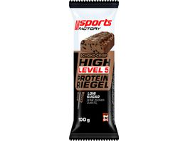 SPORTS FACTORY Proteinriegel Level 5 Schoko Crisp