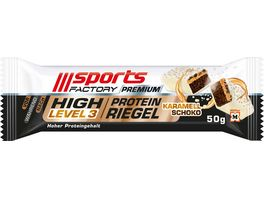 SPORTS FACTORY Proteinriegel Level3 DLX Schoko Karamell