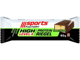 Sports Factory Proteinriegel Level 4 Haselnuss