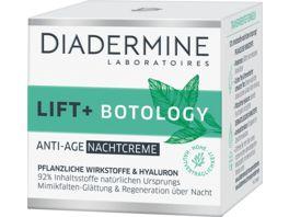 DIADERMINE Nachtpflege Lift Botology Nachtcreme
