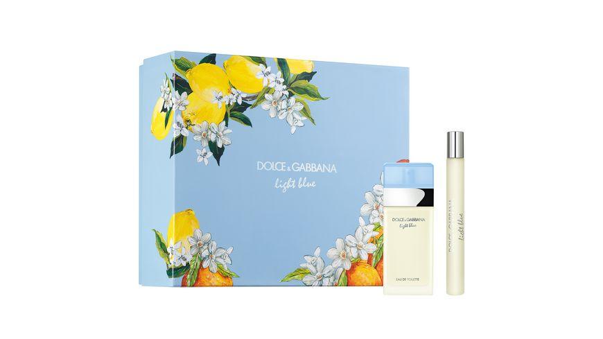 DOLCE&GABBANA Light Blue Eau de Toilette Geschenkset