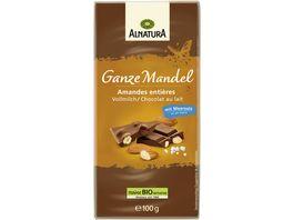 Alnatura Ganze Mandel Schokolade