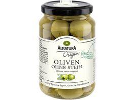 Alnatura gruene Oliven ohne Stein