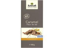 Alnatura Selection Caramel Fleur de Sel Schokolade 100G