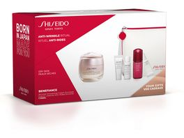 SHISEIDO Benefiance Wrinkle Smoothing Cream Enriched Set