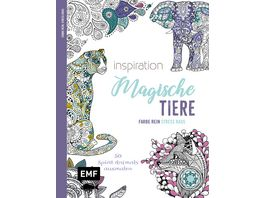 Inspiration Magische Tiere 50 Spirit Animals ausmalen