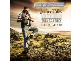 Thick As A Brick Live In Iceland 2CD DVD