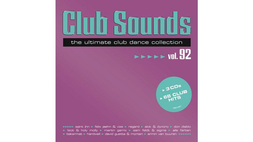 Club Sounds Vol 92