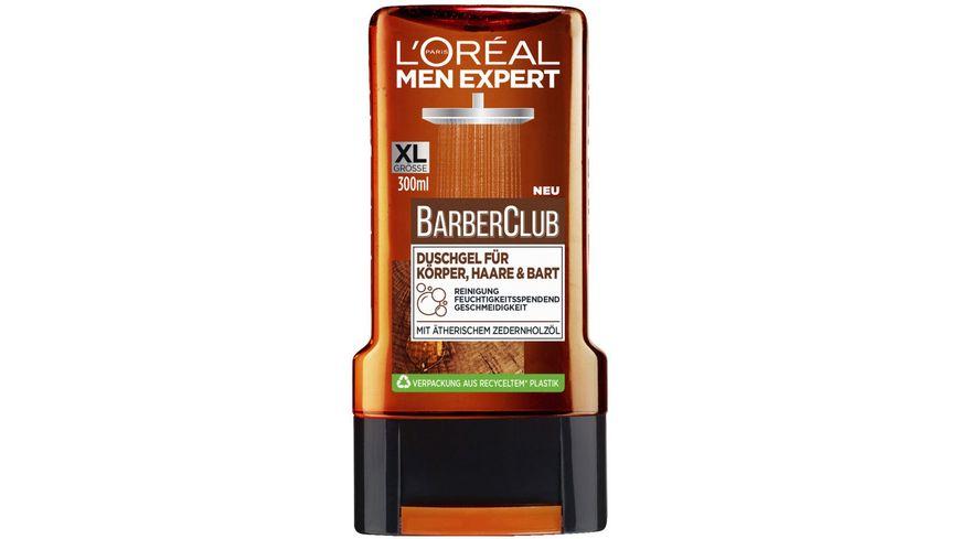 L OREAL PARIS MEN EXPERT BARBER CLUB Duschgel Koerper Haare Bart