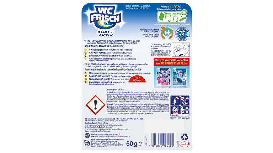 WC Frisch Kraft Aktiv Duftspueler Lemon