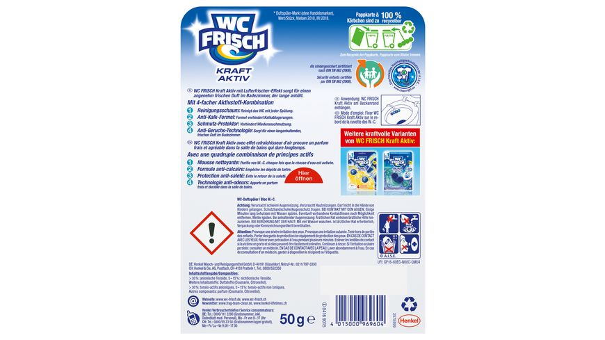 WC Frisch Kraft Aktiv Duftspueler Frische Brise