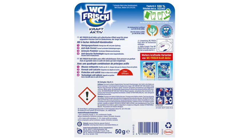 WC Frisch Kraft Aktiv Duftspueler Blueten Frische