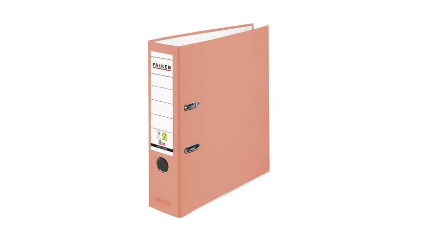 herlitz Ordner maX file protect A4 8cm lachs PP