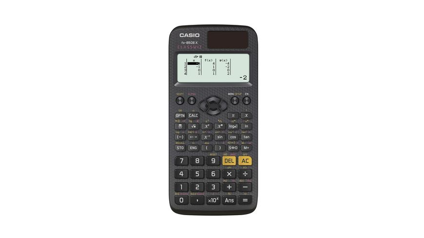 CASIO Taschenrechner FX 85 DE X